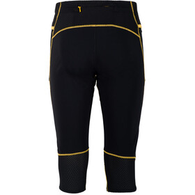 La Sportiva Nucleus 3/4 Pants Men Black/Yellow